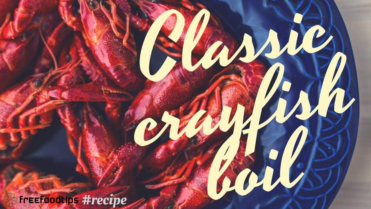 Easy crayfish boil recipe boiled food crayfish boil