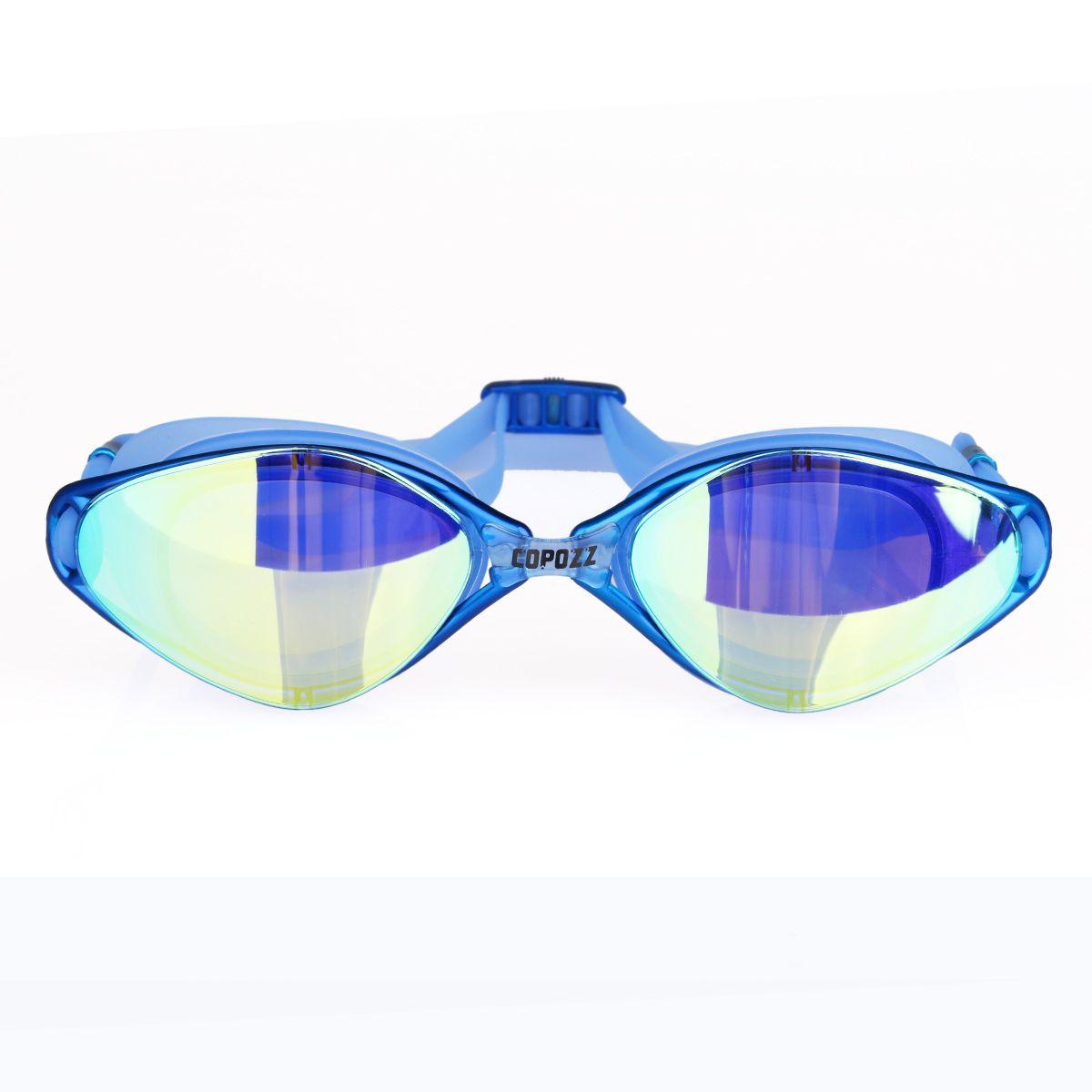 3f73ab163c7f amazing mirrored blue swimming goggles