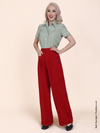 f4432db72b30 1940s Swing Trousers From Vivien Of Holloway | swing style ...