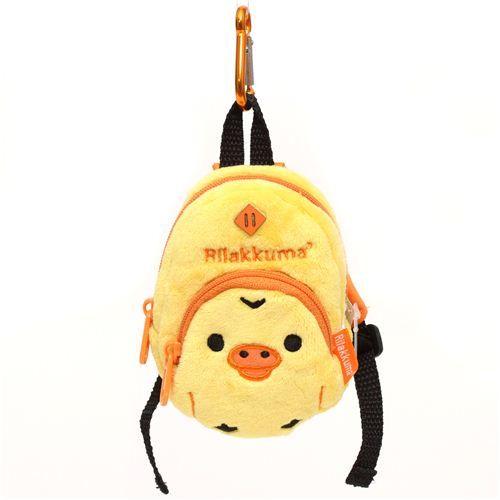 Rilakkuma yellow chick backpack plush charm