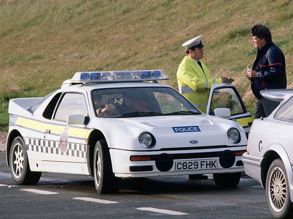 1984 Ford Rs200 Police Police Cars Ford Police Cars Uk