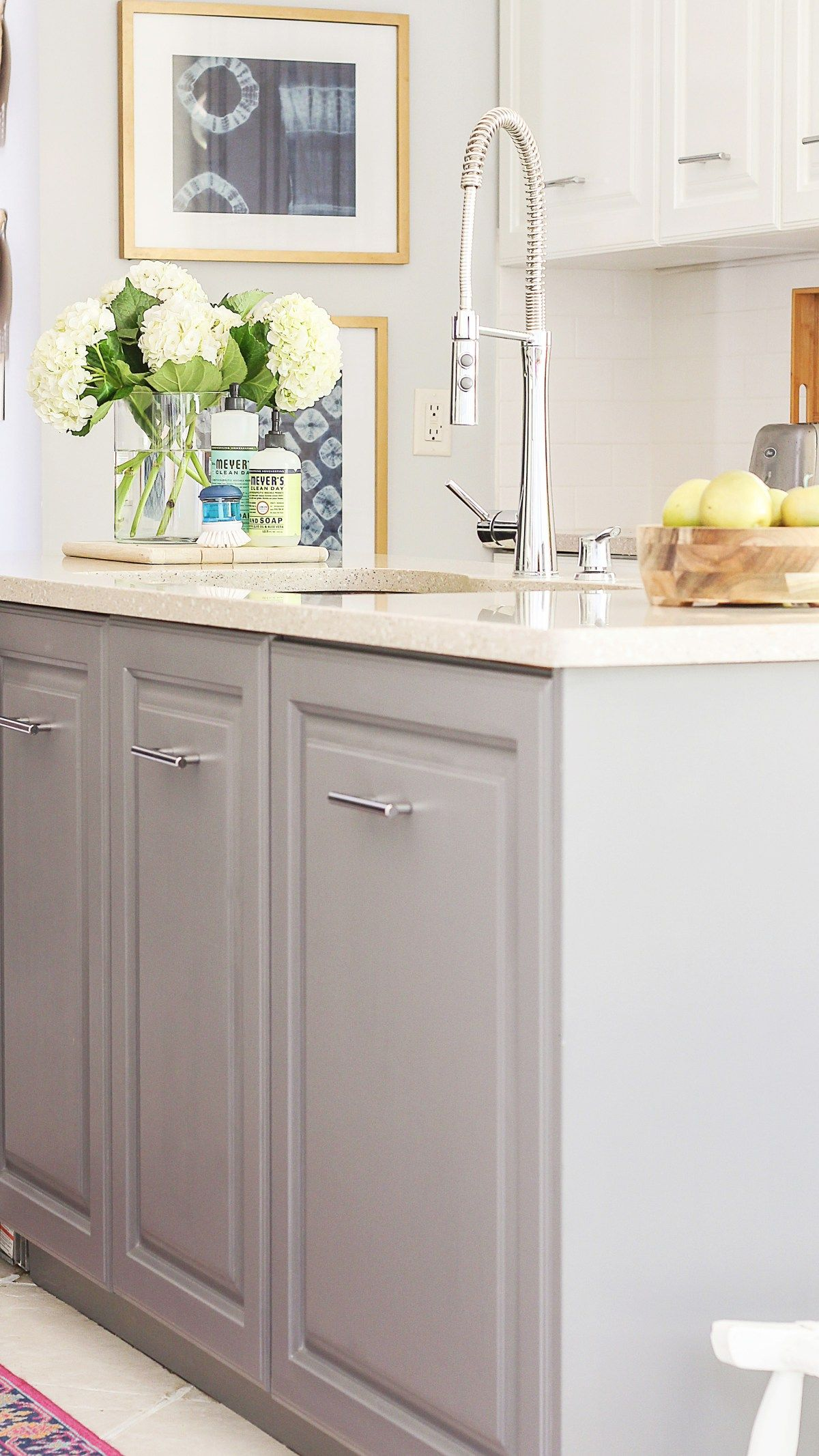 A Review Of My Milk Paint Cabinets 6 Month Follow Up Milk Paint Kitchen Cabinets Kitchen Paint Diy Kitchen Cabinets