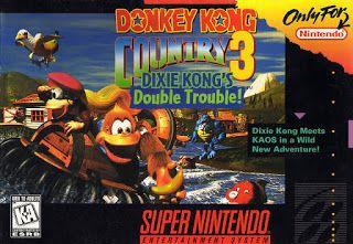 Emularoms Donkey Kong Country 3 Br Snes Super Nintendo Jogos Super Nintendo Nintendo
