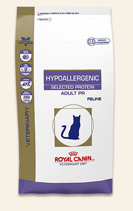 Royal Canin Veterinary Diet Hypoallergenic Selected Protein Pr Cat Food Is Formulated To Provide Your Cat With Healthy Nutri Dry Cat Food Cat Food Food Animals