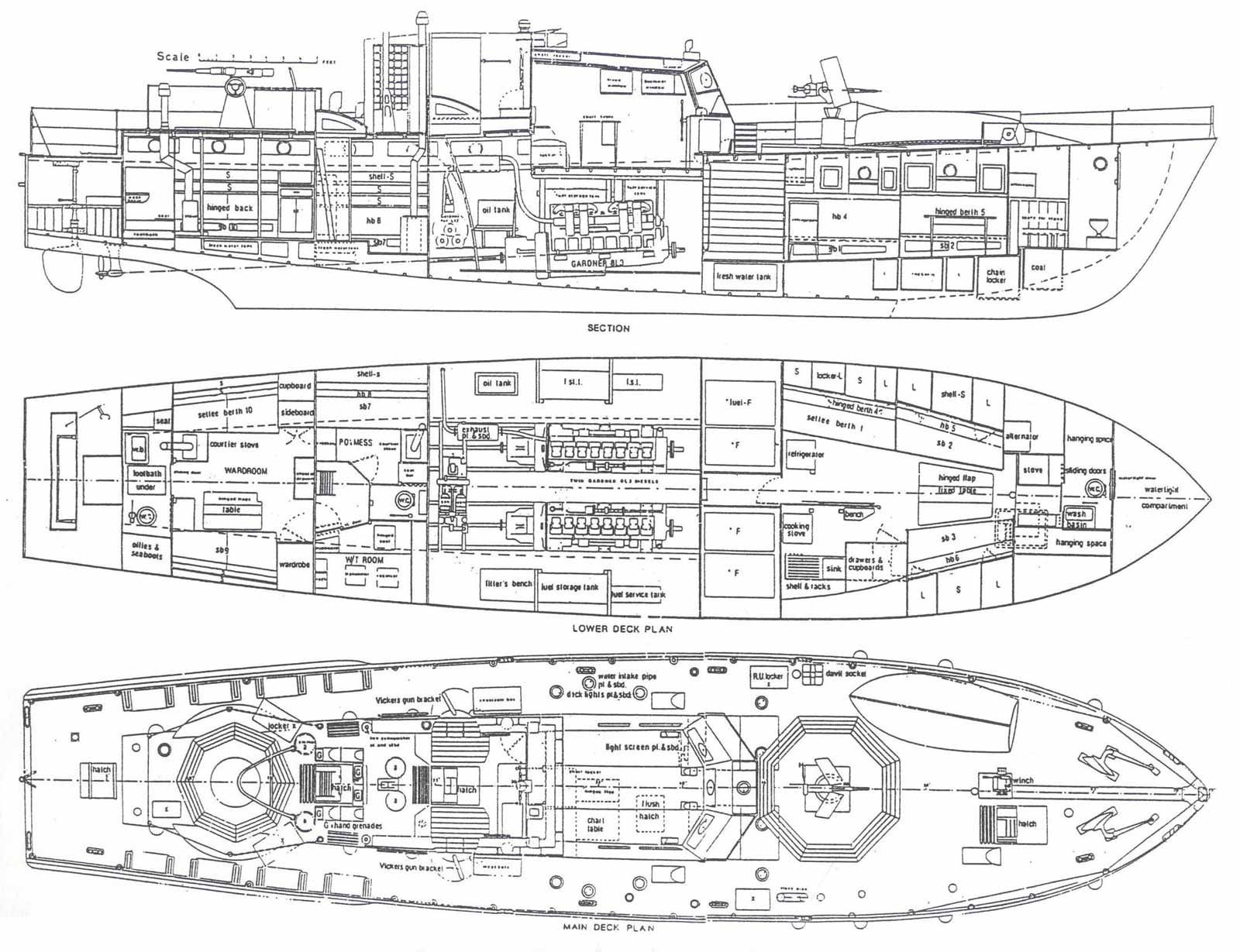 boat blueprint - Google zoeken | Cutaways | Boat plans ...