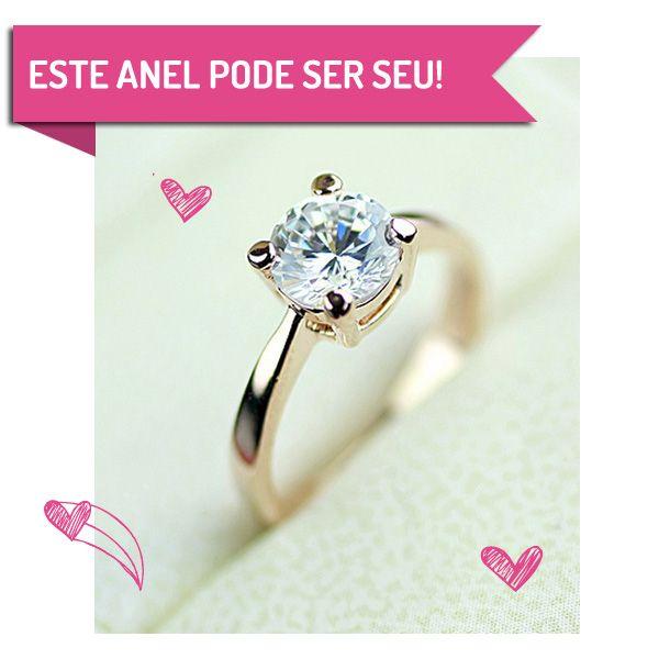 Ganhew ESTE LINDO ANEL BANHADO A OURO!!! O passo a passo vocês 1. Curta nossa página no Facebook: www.facebook.com/casareumbarato