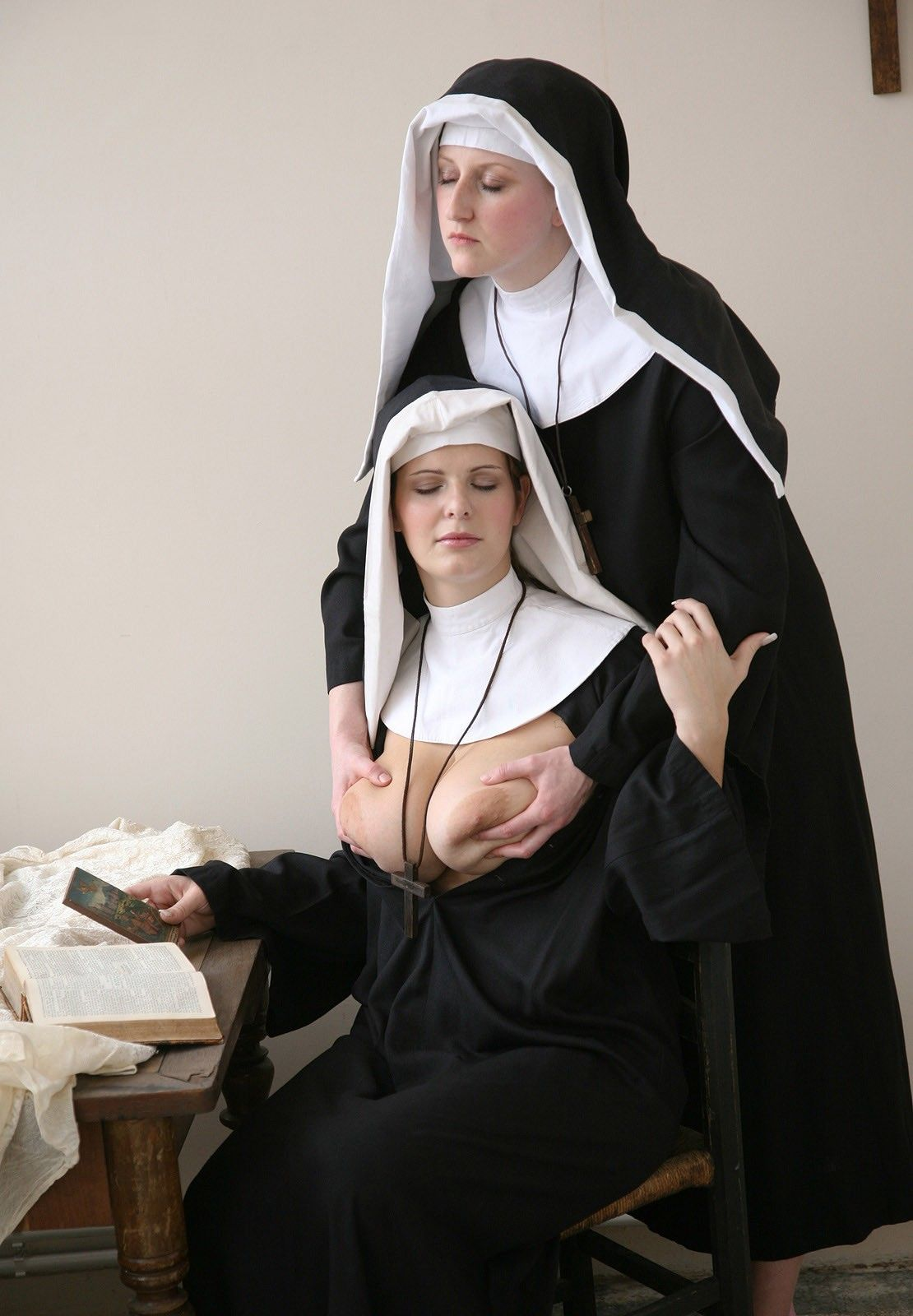 Big tit nuns victoria are