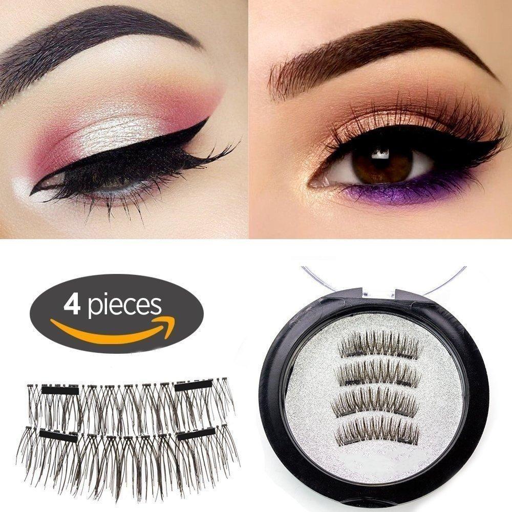 Longer Eyelashes [No Glue] Premium Quality False