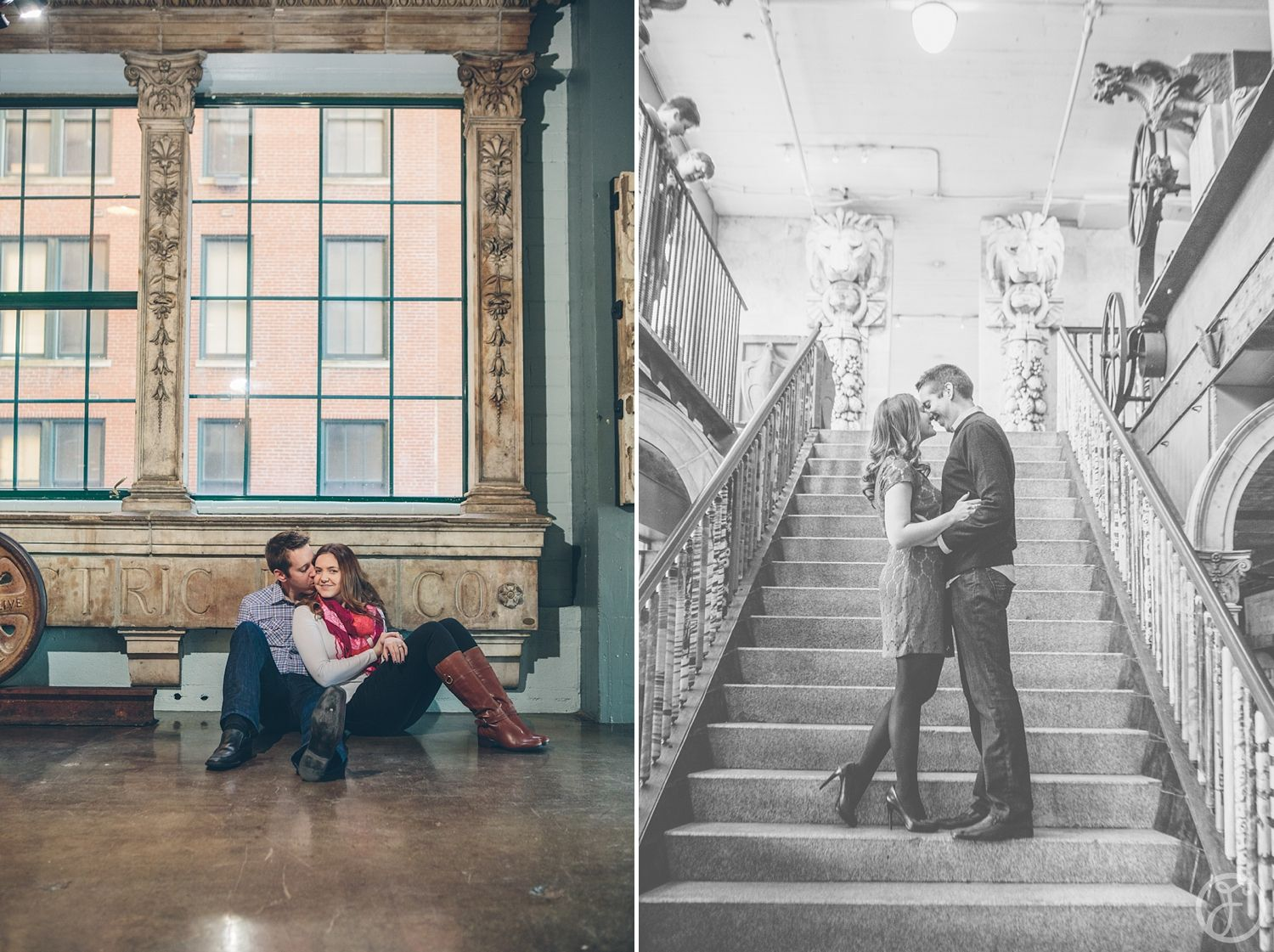 St. Louis City Museum Wedding photos  Saw these online The pictures this photographer did are amazing, unfortunately, I do not know the photographer's name.
