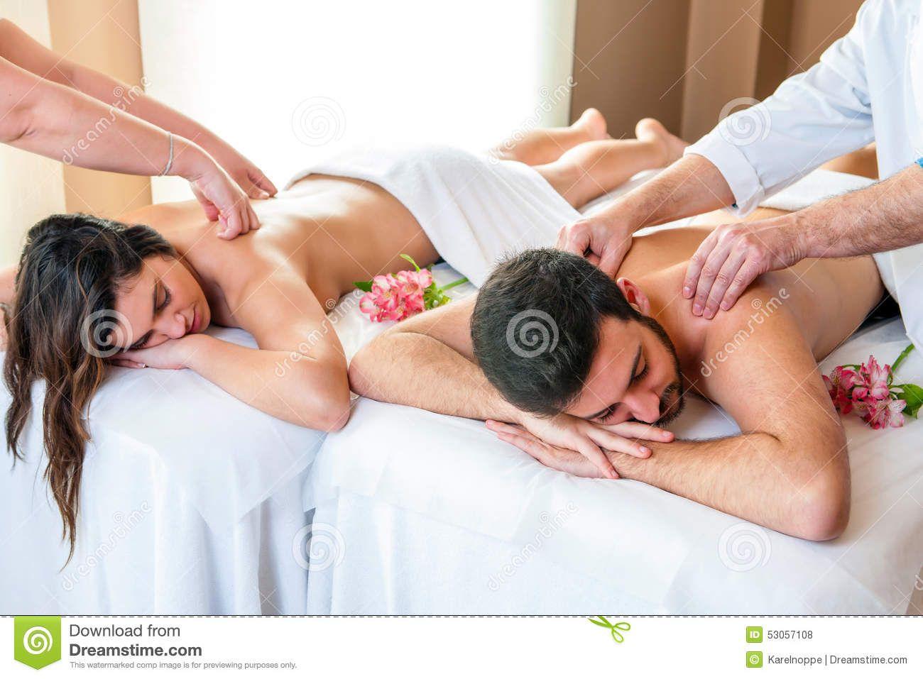 Couple Enjoying Body Massage In Spa Close Up Of Young Couple Enjoying Simultane Sponsored Ad Ad Body Body Massage Spa Relaxing Massage Couples Massage