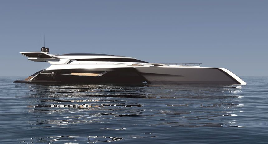 Futuristische luxusyachten  This futuristic Trimaran Yacht design looks incredible! - Marine ...