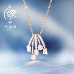 مجموعة مغلفة بالرقي من العقود الالماسية وبريقها الذي يجذب الأنظار خاتم خطوبة زواج ذهب ال Gold Wedding Jewelry Wedding Jewellery Collection Diamond Pendent
