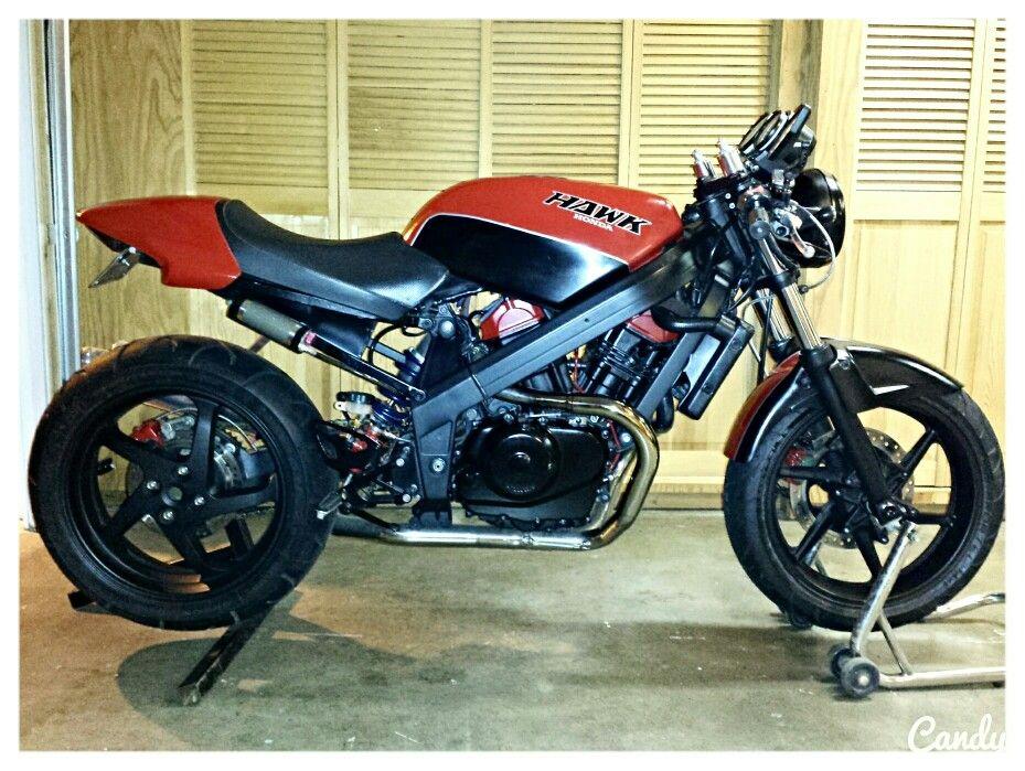 Hawkster honda hawk gt nt650 custom fighter moto