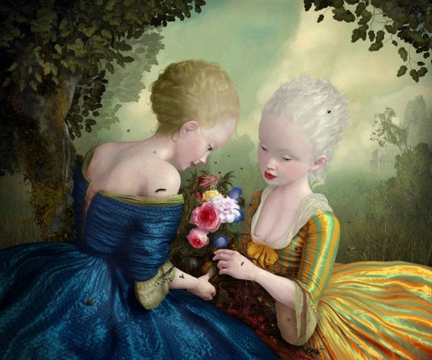 Ray Caesar is one of the most celebrated Digital Artists of the Pop Surrealism Movement.
