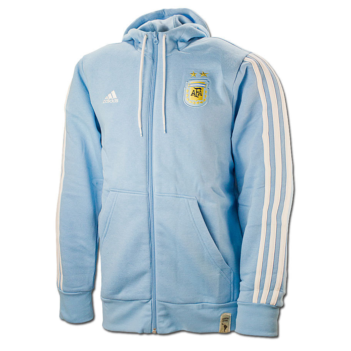 3da3975aef19 Adidas Youth Boy s Messi Half Zip Hoodie (Blue)