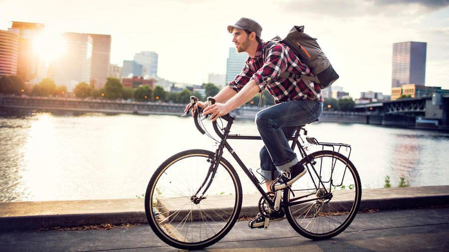 10 Best Biking Towns In The West Bicycle Commuter Bike Cool Bikes