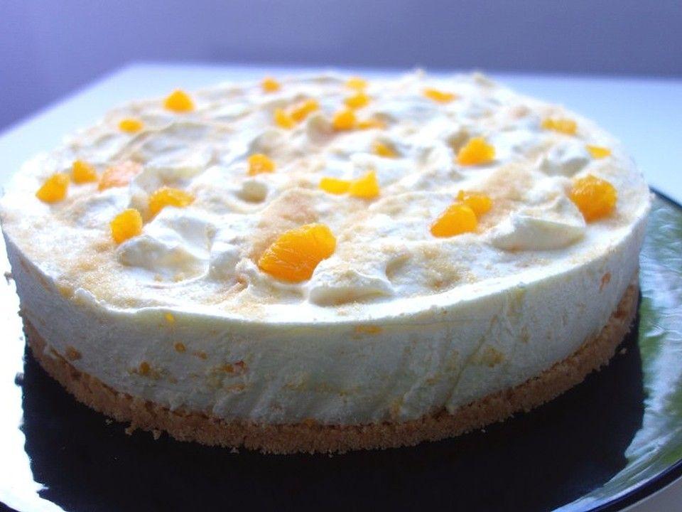 Mandarinen Philadelphia Torte Von Sun7724 Chefkoch Rezept Philadelphia Torte Kuchen Und Torten Philadelphia Torte Ohne Backen