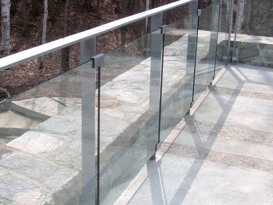 Exterior Glass Railing The Image Kid Has It