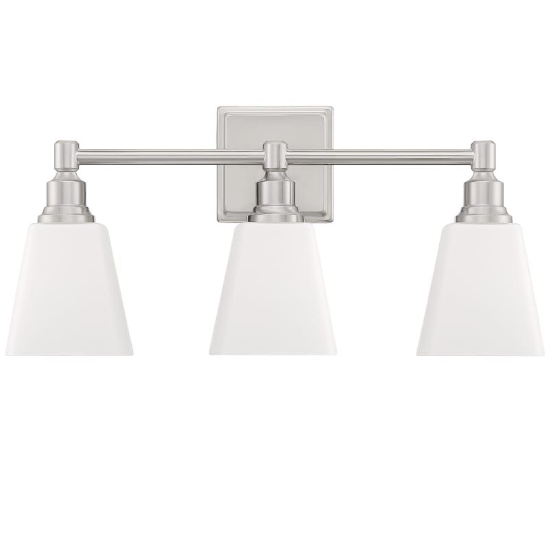 "Photo of Miseno ML5756VL 3 Light 21 ""Wide Bathroom Basin Lamp Brushed Nickel Interior Lighting Bathroom Lights Basin Lamp"