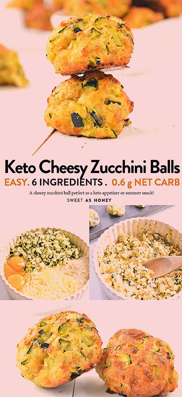 Photo of KETO ZUCCHINI CHEESY BALLS 06 g netto Kohlenhydrate glutenfrei Partyfutter #keto… – Sandy