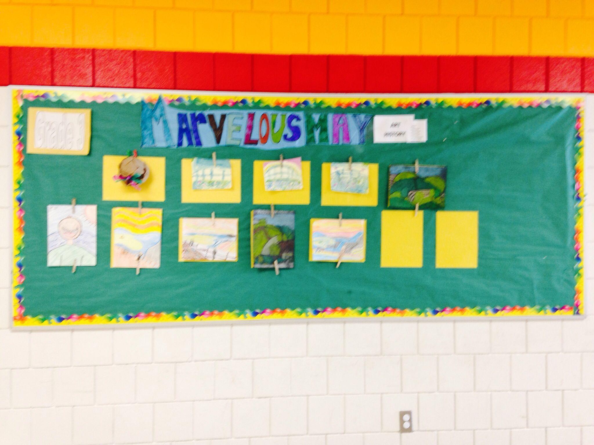 3rd grade art history