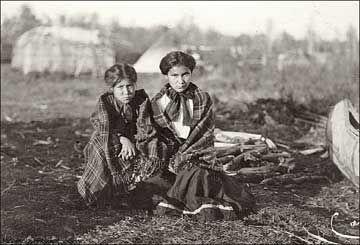 Ojibwa girls.