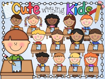 Children Writing And Reading Illustration Royalty Free Cliparts, Vectors,  And Stock Illustration. Image 52038617.