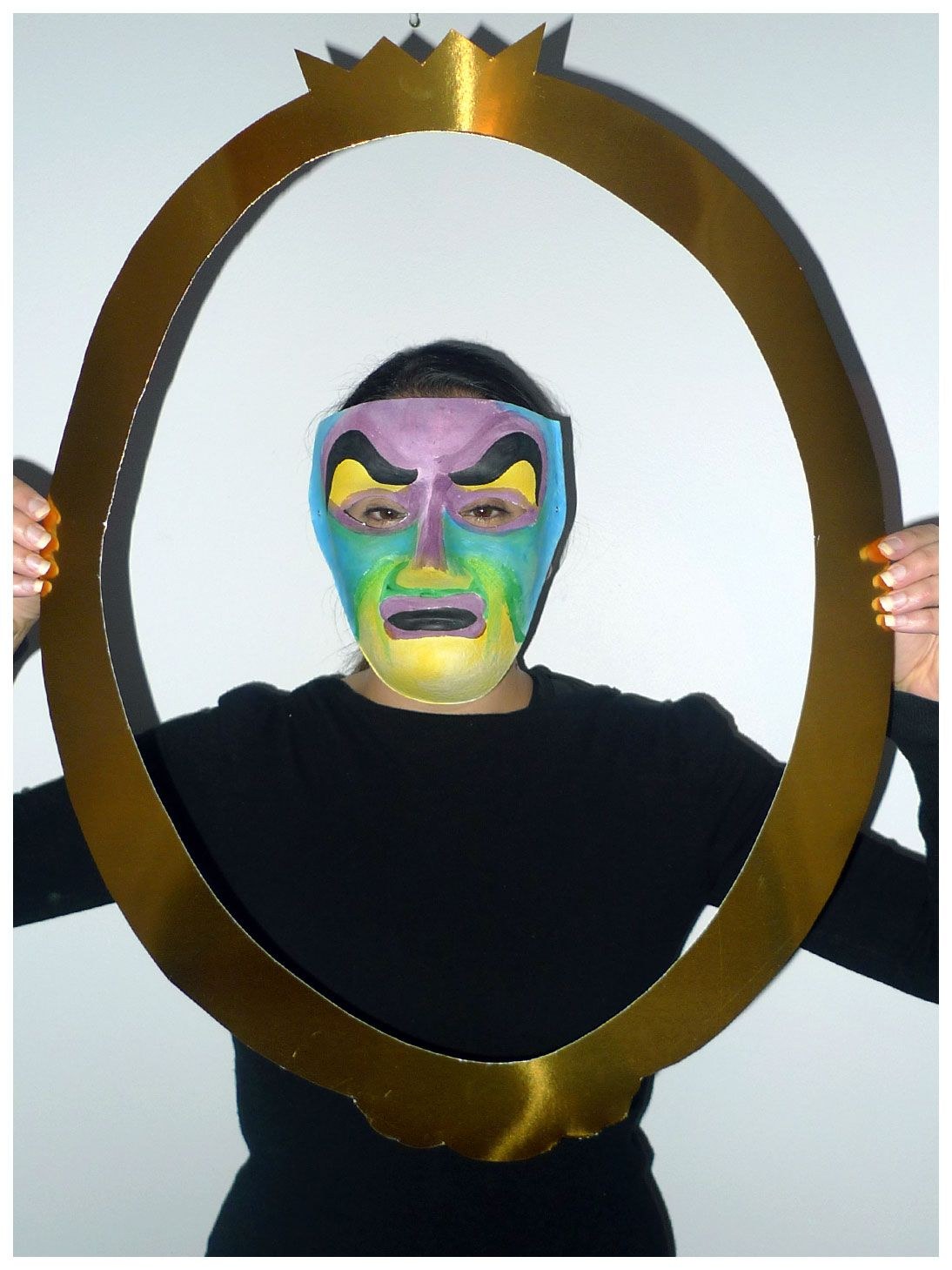 Snow white magic mirror costume midg cursos ordo amoris today is another easy one for your halloween needs with this magic mirror from snow white costume all you need to do is paint a plain mask you get from hot amipublicfo Choice Image