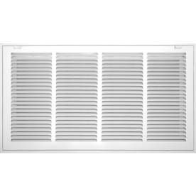 Accord Ventilation 520 Series White Steel Louvered