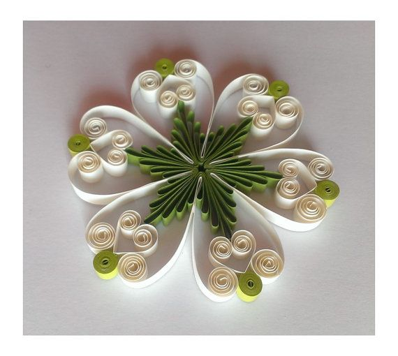 Quilling pattern / tutorial - PDF, Instant download, (RF ...