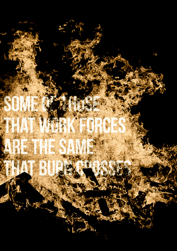 Lyric down rodeo lyrics : Some of those that work forces, are the same that burn crosses ...