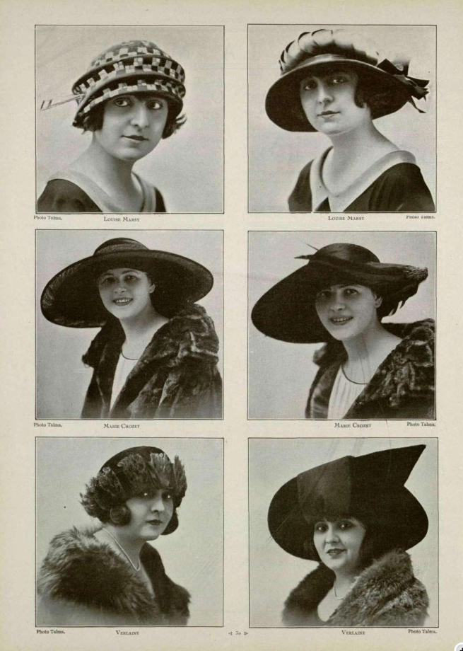 Roaring Hats (With images) Vintage hats 1920s
