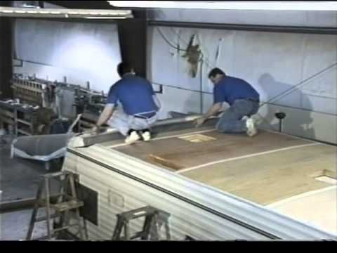 Replacing Your Rv Roof With A Dicor Roof Membrane Membrane Roof Recreational Vehicles Roof Repair