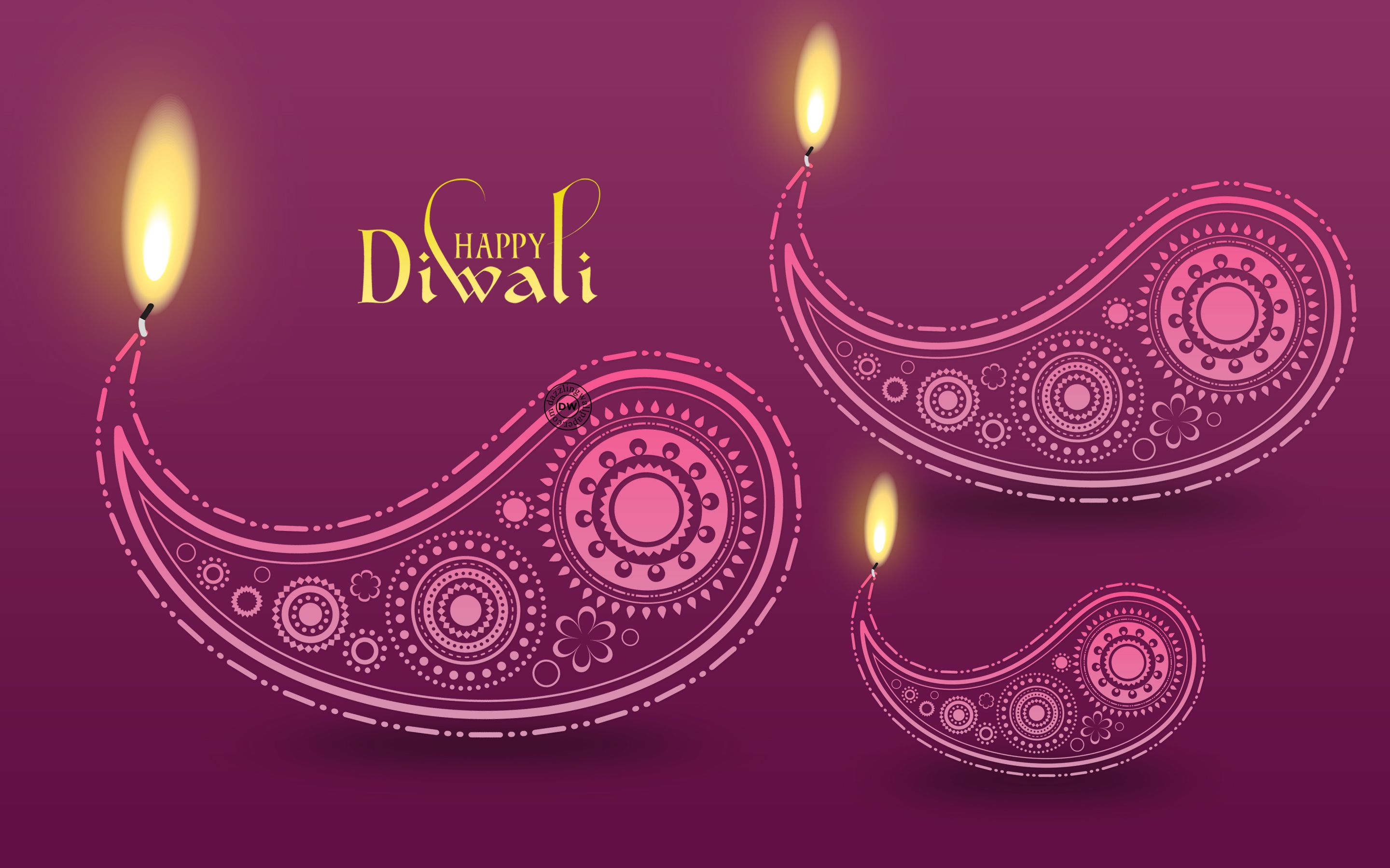 Diwali Hd Wallpaper With Beautiful Diva Happy Diwali Hd Wallpaper