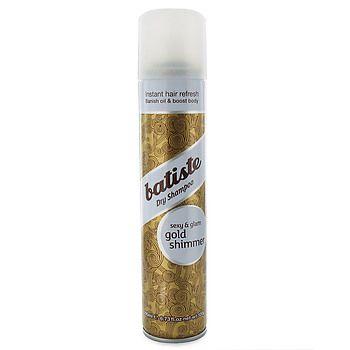 Batiste Dry Shampoo Gold Shimmer Batiste Dry Shampoo Dry Shampoo Gold Shimmer