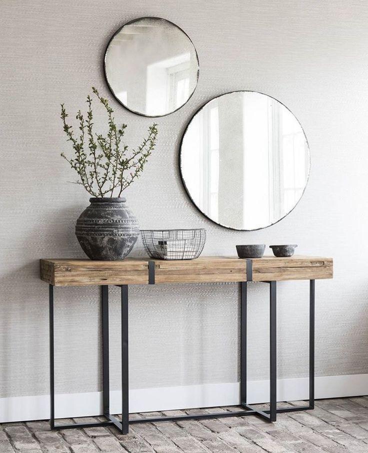 Diese runden Spiegel sind die besten! #flurdekoration