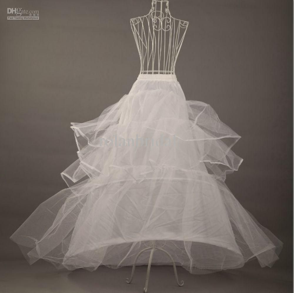 White 6 HOOP PETTICOAT Crinoline SLIP Underskirt BRIDAL WEDDING Dress Petticoat Hot Sale 2014 RL25