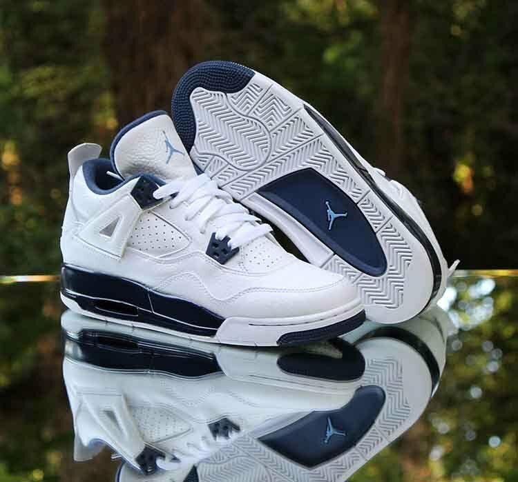 Nike Air Jordan 4 Retro BG Legend Blue