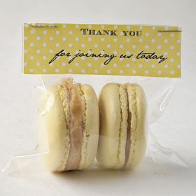 Baby Shower Party Favour: Macarons