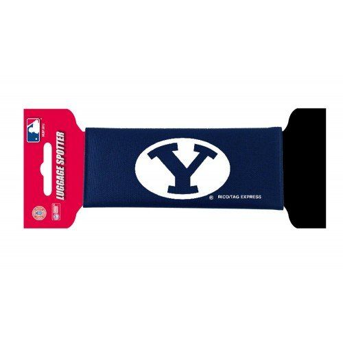 #ReliefSociety #LDS -  NCAA BYU Cougars Luggage Spotter 2-pack / http://www.mormonproducts.net/ncaa-byu-cougars-luggage-spotter-2-pack-3/