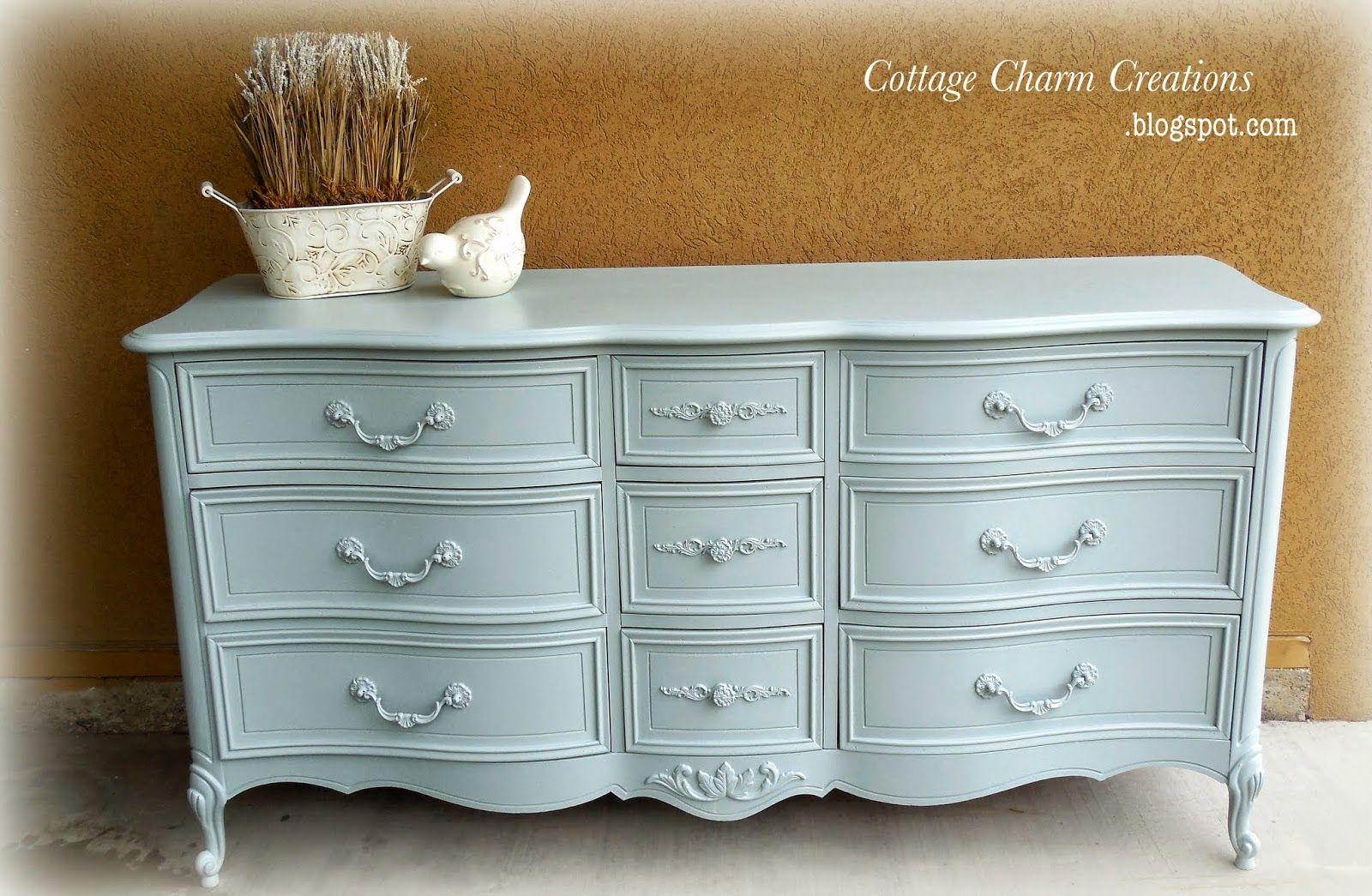 Cottage Charm Creations Vintage Dresser