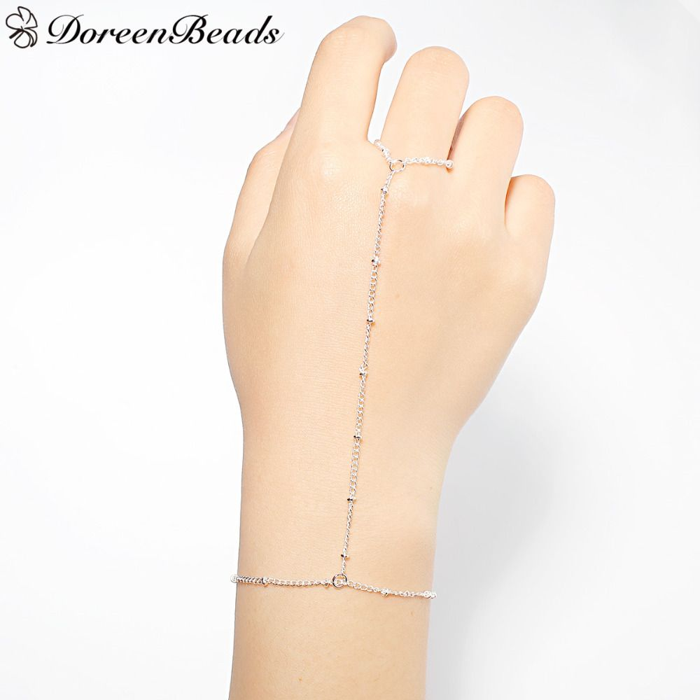 Doreenbeads hand chain slave bracelets women summer fashion jewelry