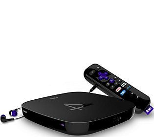 Roku 4 4K Ultra HD Media Streaming Device with Remote