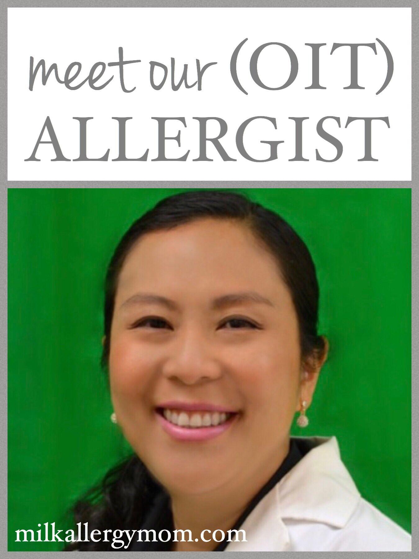 Allergist Immunologist Board Certified Oit Doctor Milk Allergy Mom Allergy Mom Milk Allergy Milk Allergy Mom