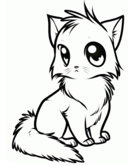 Anime Cat Sketch : anime, sketch, Anime, Picture, #cutecat, Drawing, Tutorial,, Cartoon, Drawing,, Animal, Drawings