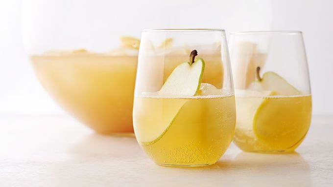 Image result for sparkling pear rum punch