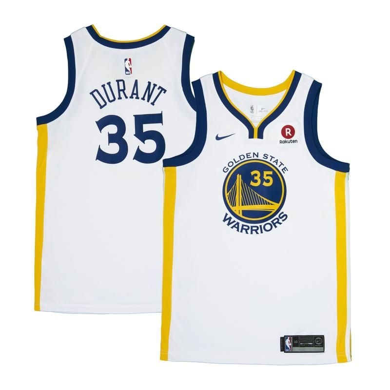 new concept ba294 f6dad Kevin Durant Jersey - Golden State Warriors - Nike White ...