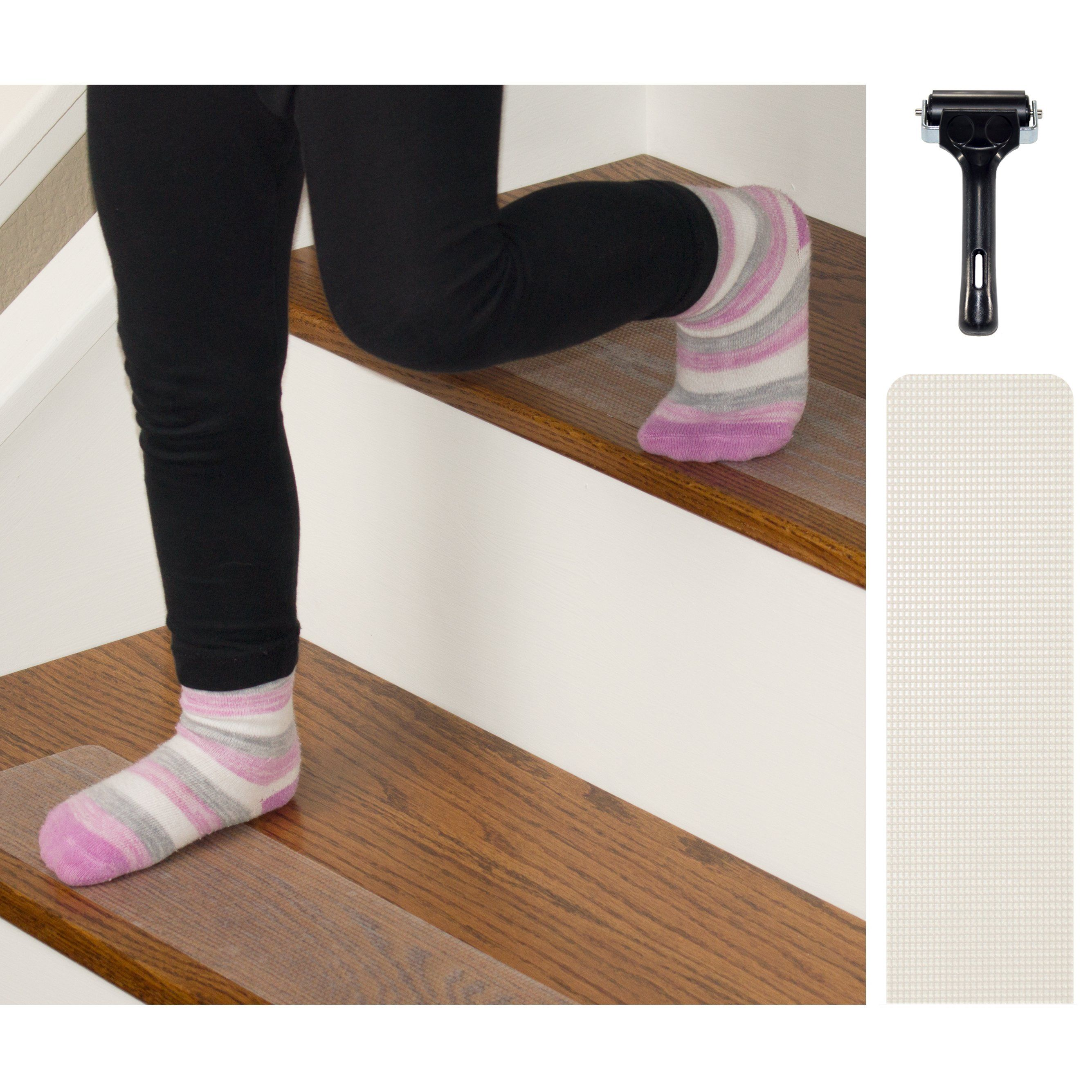 Best Non Slip Rubberized Clear Opaque Adhesive Stair Treads And 400 x 300