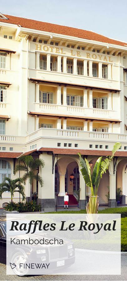 Kolonialstil Le seit seiner eröffnung im jahr 1929 gehört das luxuriöse hotel im