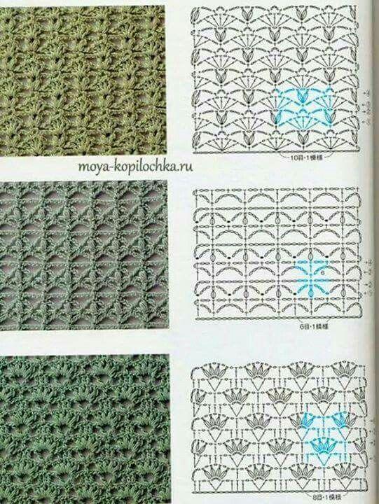 Elegido para ti | puntos a crochet | Pinterest | Elegi, Puntos y ...